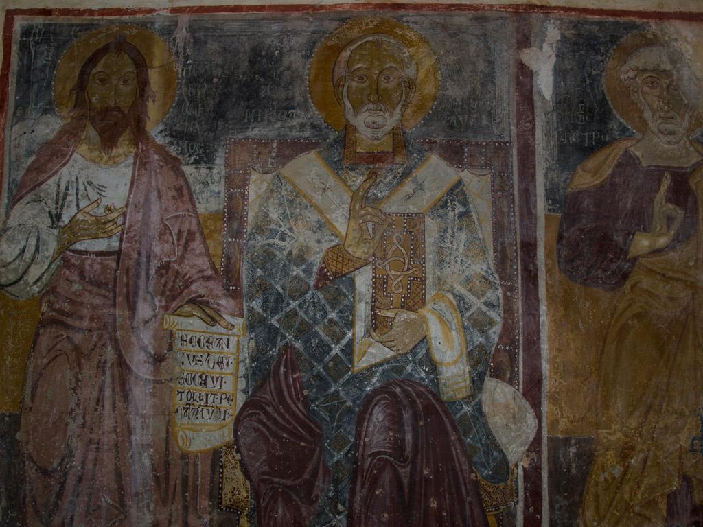 cappella dell'Annunziata - affresco del XIII secolo